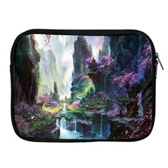 Fantastic World Fantasy Painting Apple Ipad 2/3/4 Zipper Cases