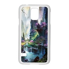 Fantastic World Fantasy Painting Samsung Galaxy S5 Case (white) by BangZart
