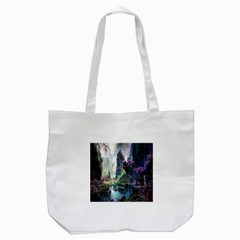 Fantastic World Fantasy Painting Tote Bag (white) by BangZart