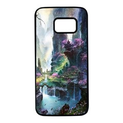 Fantastic World Fantasy Painting Samsung Galaxy S7 Black Seamless Case