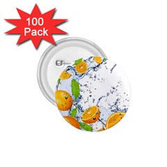 Fruits Water Vegetables Food 1 75  Buttons (100 Pack)