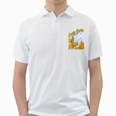 Fruits Water Vegetables Food Golf Shirts