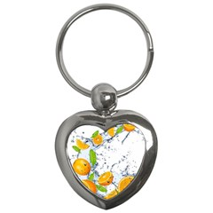 Fruits Water Vegetables Food Key Chains (heart)  by BangZart