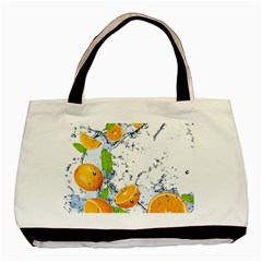 Fruits Water Vegetables Food Basic Tote Bag by BangZart