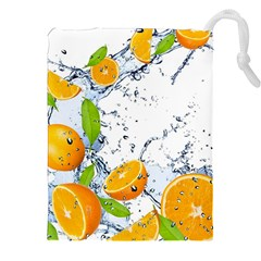 Fruits Water Vegetables Food Drawstring Pouches (xxl) by BangZart