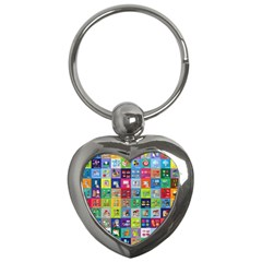 Exquisite Icons Collection Vector Key Chains (heart)  by BangZart