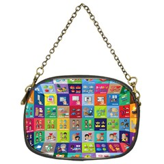 Exquisite Icons Collection Vector Chain Purses (one Side)  by BangZart