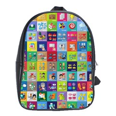 Exquisite Icons Collection Vector School Bags(large)  by BangZart