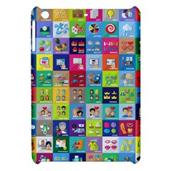 Exquisite Icons Collection Vector Apple Ipad Mini Hardshell Case by BangZart