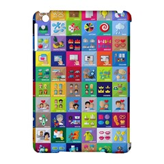 Exquisite Icons Collection Vector Apple Ipad Mini Hardshell Case (compatible With Smart Cover) by BangZart