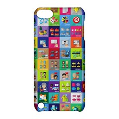 Exquisite Icons Collection Vector Apple Ipod Touch 5 Hardshell Case With Stand by BangZart