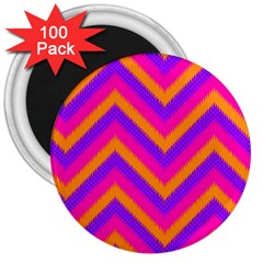 Chevron 3  Magnets (100 Pack)