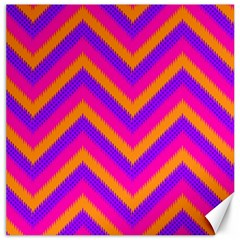Chevron Canvas 20  X 20