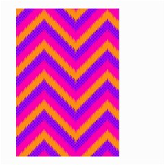 Chevron Small Garden Flag (two Sides) by BangZart