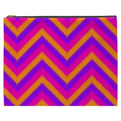Chevron Cosmetic Bag (xxxl)  by BangZart