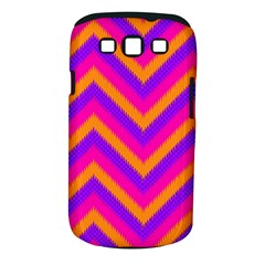 Chevron Samsung Galaxy S Iii Classic Hardshell Case (pc+silicone) by BangZart