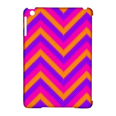 Chevron Apple Ipad Mini Hardshell Case (compatible With Smart Cover)