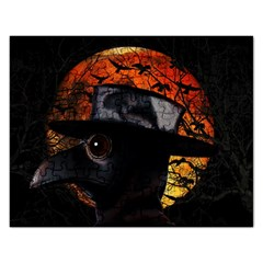 Bird Man  Rectangular Jigsaw Puzzl