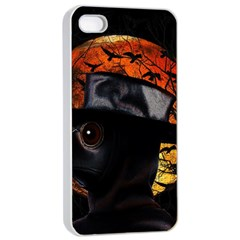 Bird Man  Apple Iphone 4/4s Seamless Case (white)