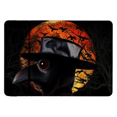 Bird Man  Samsung Galaxy Tab 8 9  P7300 Flip Case by Valentinaart