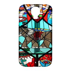 Elephant Stained Glass Samsung Galaxy S4 Classic Hardshell Case (pc+silicone) by BangZart