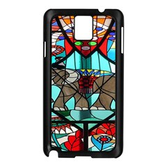 Elephant Stained Glass Samsung Galaxy Note 3 N9005 Case (black)
