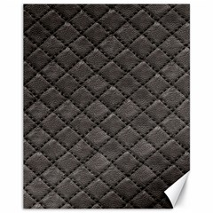 Seamless Leather Texture Pattern Canvas 11  X 14