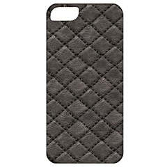 Seamless Leather Texture Pattern Apple Iphone 5 Classic Hardshell Case by BangZart
