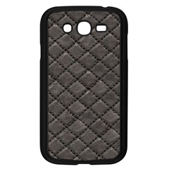 Seamless Leather Texture Pattern Samsung Galaxy Grand Duos I9082 Case (black) by BangZart