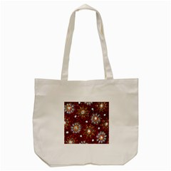 India Traditional Fabric Tote Bag (cream) by BangZart