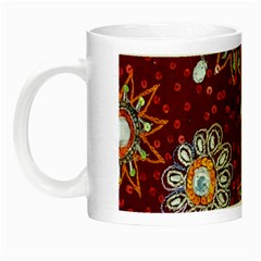 India Traditional Fabric Night Luminous Mugs by BangZart