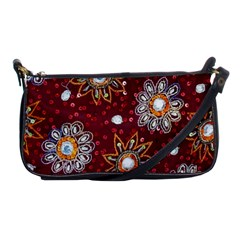 India Traditional Fabric Shoulder Clutch Bags by BangZart