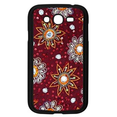 India Traditional Fabric Samsung Galaxy Grand Duos I9082 Case (black) by BangZart