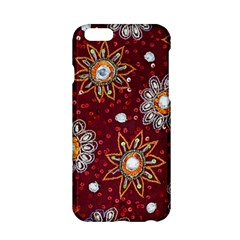 India Traditional Fabric Apple Iphone 6/6s Hardshell Case