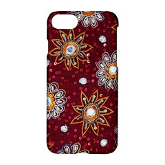 India Traditional Fabric Apple Iphone 7 Hardshell Case by BangZart
