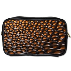 Digital Blasphemy Honeycomb Toiletries Bags