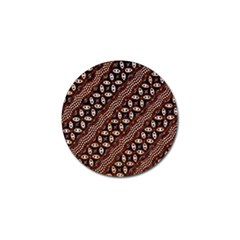 Art Traditional Batik Pattern Golf Ball Marker (10 Pack) by BangZart