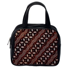 Art Traditional Batik Pattern Classic Handbags (one Side)