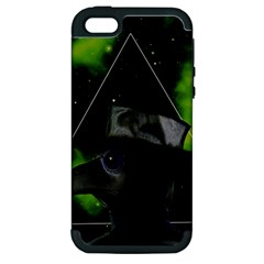 Bird Man  Apple Iphone 5 Hardshell Case (pc+silicone)