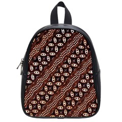 Art Traditional Batik Pattern School Bags (small)  by BangZart