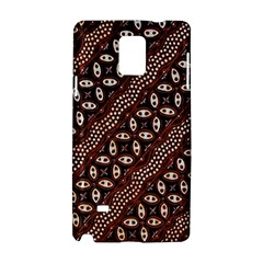 Art Traditional Batik Pattern Samsung Galaxy Note 4 Hardshell Case
