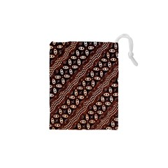 Art Traditional Batik Pattern Drawstring Pouches (xs)  by BangZart