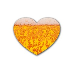 Beer Alcohol Drink Drinks Heart Coaster (4 Pack)
