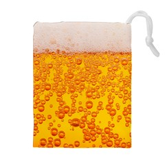 Beer Alcohol Drink Drinks Drawstring Pouches (extra Large)