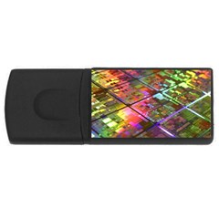Technology Circuit Computer Rectangular Usb Flash Drive by BangZart