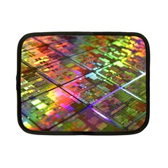 Technology Circuit Computer Netbook Case (small)  by BangZart