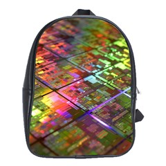 Technology Circuit Computer School Bags(large)