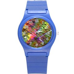 Technology Circuit Computer Round Plastic Sport Watch (s)