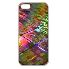 Technology Circuit Computer Apple Seamless Iphone 5 Case (clear) by BangZart