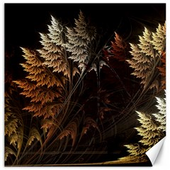 Fractalius Abstract Forests Fractal Fractals Canvas 20  X 20   by BangZart